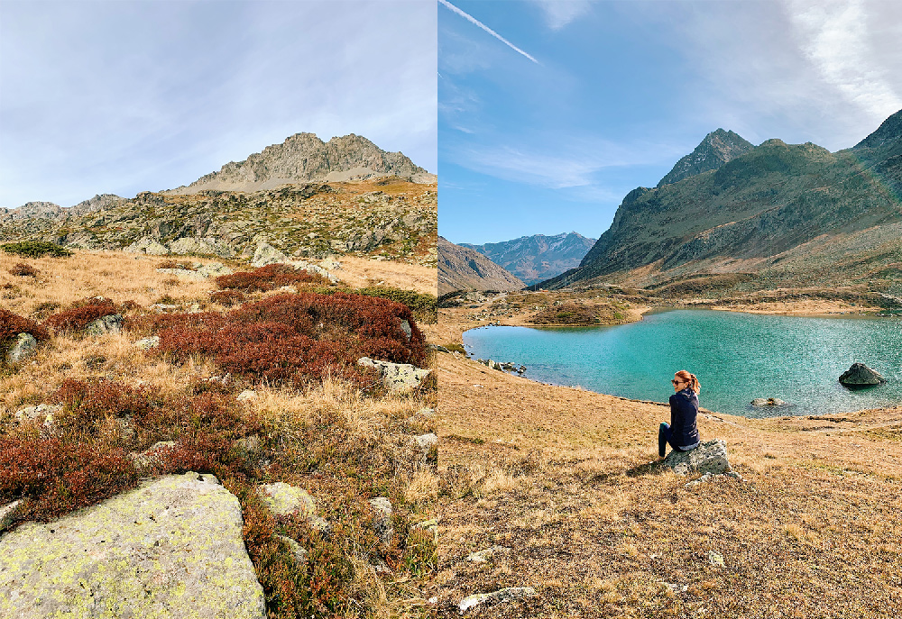 4-Waldhaus-Sils-Herbstwanderung-Engadin Waldhaus Sils - Hiking & Wellness Weekend in Autumn