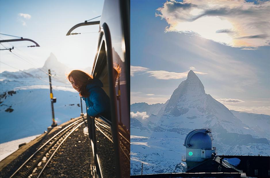 Vorlage-Collagen Zermatt & Matterhorn - Reisetipps, Hotelunterkunft und 3 unvergessliche Aktivitäten